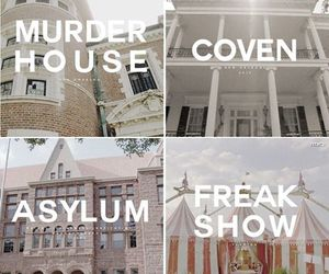 asylum, coven, and murder house image