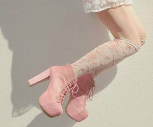 boots, feminine, and girl image