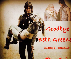 beth and the walking dead image