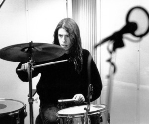drums, grunge, and nirvana image