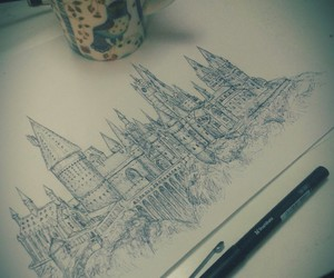 architecture, art, and harry potter image