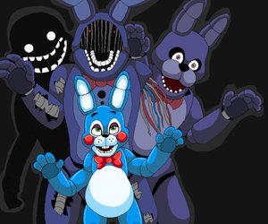 Bonnie, game, and five nights at freddy's image