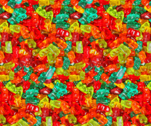 candy and wallpaper image