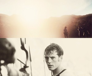 the hunger games, catching fire, and finnick odair image