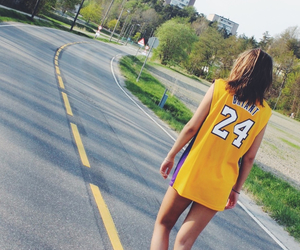 24, girl, and lakers image
