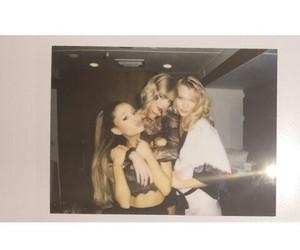ariana grande, Taylor Swift, and Karlie Kloss image