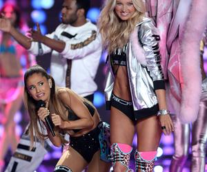 ariana grande, funny, and Victoria's Secret image