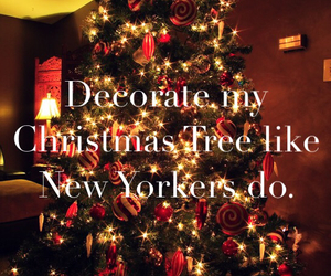 christmas, decorate, and tree image