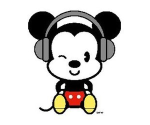 disney, mickey mouse, and cutieee image