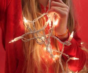 christmas, christmas lights, and fairy lights image