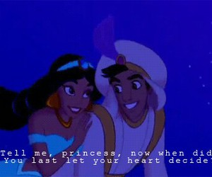 aladdin and let your heart decide image