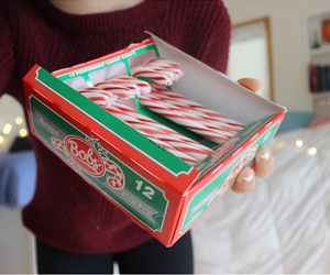 christmas, tumblr, and candy cane image