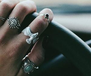 rings, grunge, and car image