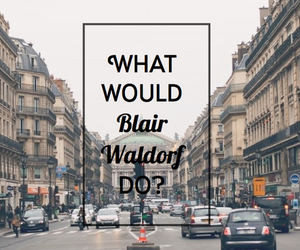blair, blair waldorf, and gossip girl image
