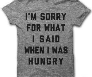 funny, hungry, and lol image