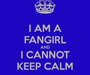 fandom, fangirl, and keep calm image