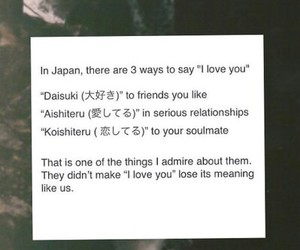I Love You, japan, and love quotes image