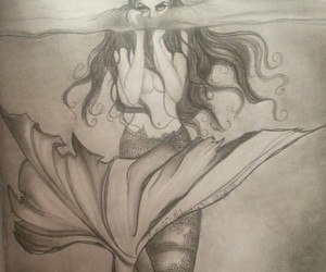 art, cool, and mermaid image