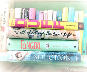 books, fangirl, and the duff image