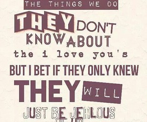 one direction, they don't know about us, and Lyrics image
