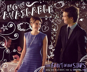 Shailene Woodley, the fault in our stars, and ansel elgort image