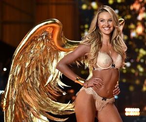 fashion, victoria's secret angel, and lingerie image