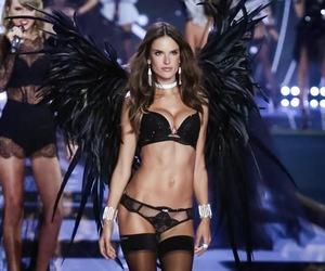 alessandra ambrosio, fashion, and Angel Wings image