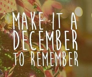 december, remember, and wonderful image