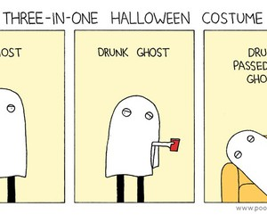 funny costume ghost image