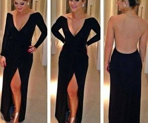 dress, party, and long image