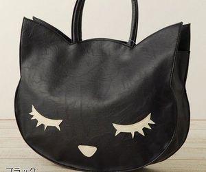 cat, bag, and kawaii image