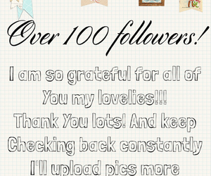 followers, grateful, and thank you image