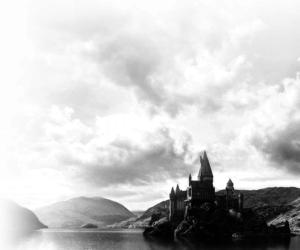 castle, gryffindor, and harry potter image