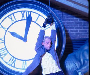 Back to the Future, christopher lloyd, and doctor emmett brown image