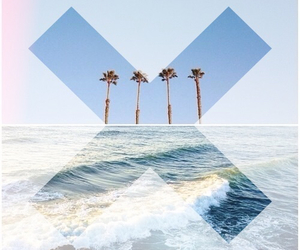 beach, hipster, and xx image