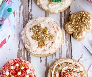 christmas, sugar cookies, and Cookies image