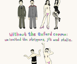 funny, comma, and grammar image