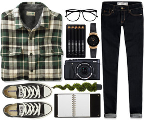 converse and Polyvore image