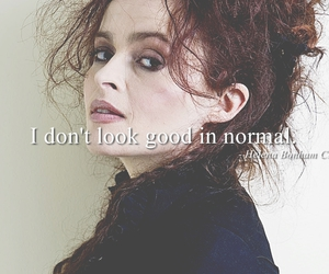 helena bonham carter and quote image
