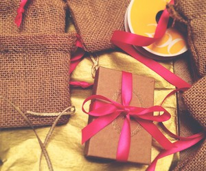 gift, gift wrap, and style image