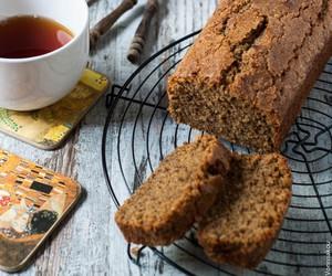 cake, earl grey, and tea image