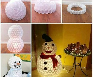 diy, snowman, and christmas image