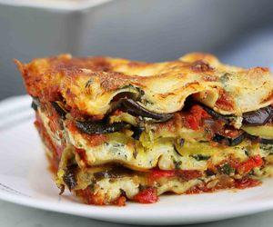 cheese, pasta, and italian image