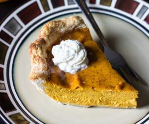 crust, pie, and pumpkin image
