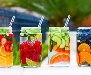 drink, FRUiTS, and healthy image