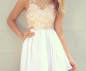 clothing, dress, and long skirt image