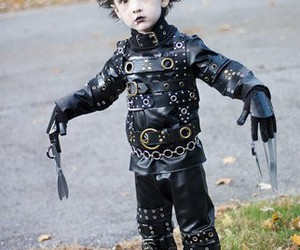 edward scissorhands, kids, and edward image