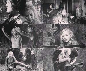 beth, the walking dead, and daryl image