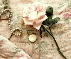 pink, shabby chic, and vintage image
