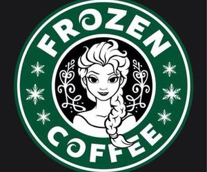 frozen, starbucks, and coffee image